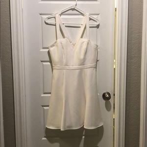 BCBG MAXaRIA white dress